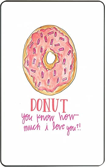 Donut you know how i love you doughnuts kindle fire vinyl decal sticker skin by debbies