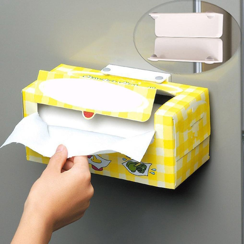 Amazon.com: Quartly New Magnetic Wall Mount Toilet Paper Holder ...