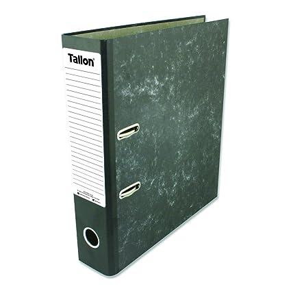 Tallon – Artículos de papelería – 4 x A4 montado archivadores de Carpeta de Almacenamiento de