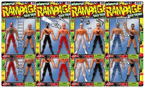 Ja-Ru Wrestle Tag Team Bundle of 8 (2 Packs) by JaRu