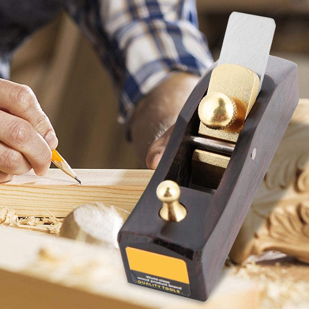 Mini bloque plano de mano carpintero madera Grooving recorte DIY madera avi/ón 13 mm hoja