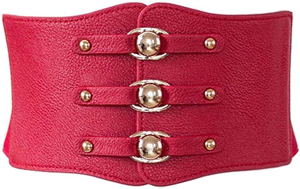 VOCHIC PU Leather Belt High...