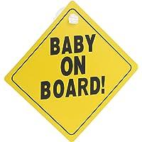 Kind Geschenk Prinz Elian An Bord mit Krone Personalisierte Autokennzeichen Neues Baby Junge Baby on Board Pr/äsentieren Autoschild /…