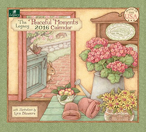 Legacy Publishing Group 2016 Wall Calendar, Peaceful Moments (WCA19693)