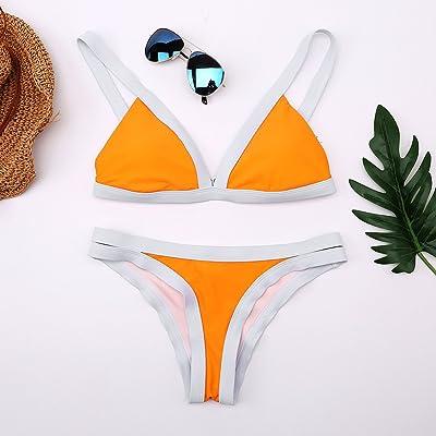 La tendance tendance Maillot Maillot Maillot de couleur frappé _ et confortable moderne bikini