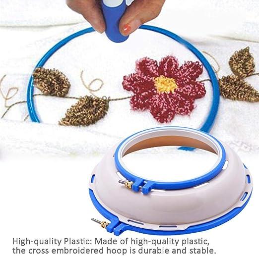 Runningfish - Llanta de plástico para Punto de Cruz: Amazon.es: Hogar