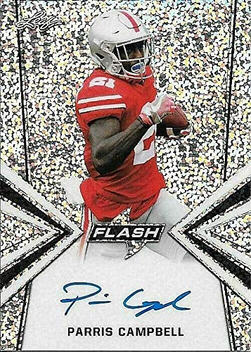2019 Leaf Flash #PC1 Parris Campbell Base On Card Autograph OHIO - Campbell Rookie Card