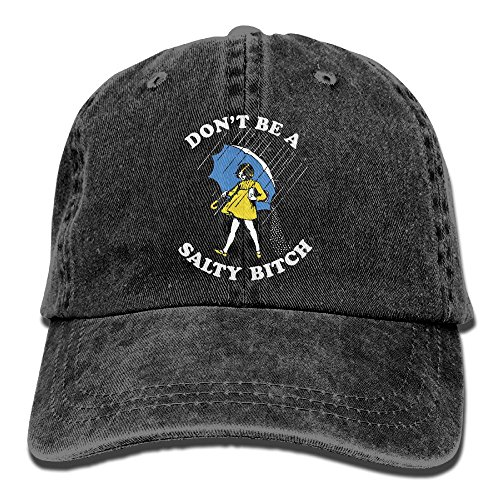 MNBHat Don't Be A Salty Bitch Snapback Cotton Cap ()