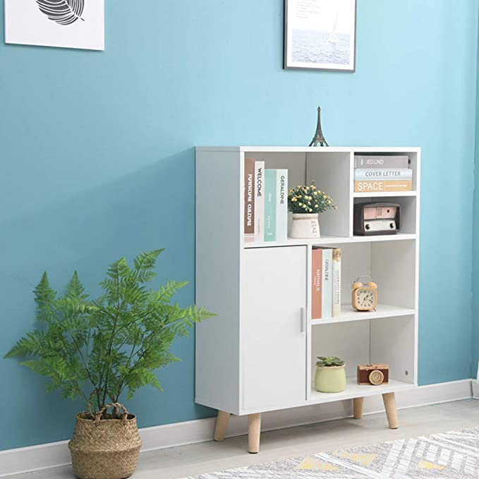 Letong Bookcase Bookcase Living Room Study Locker Home Storage Cabinet Multifunctional Storage Bookshelf Home Kitchen Amazon Com