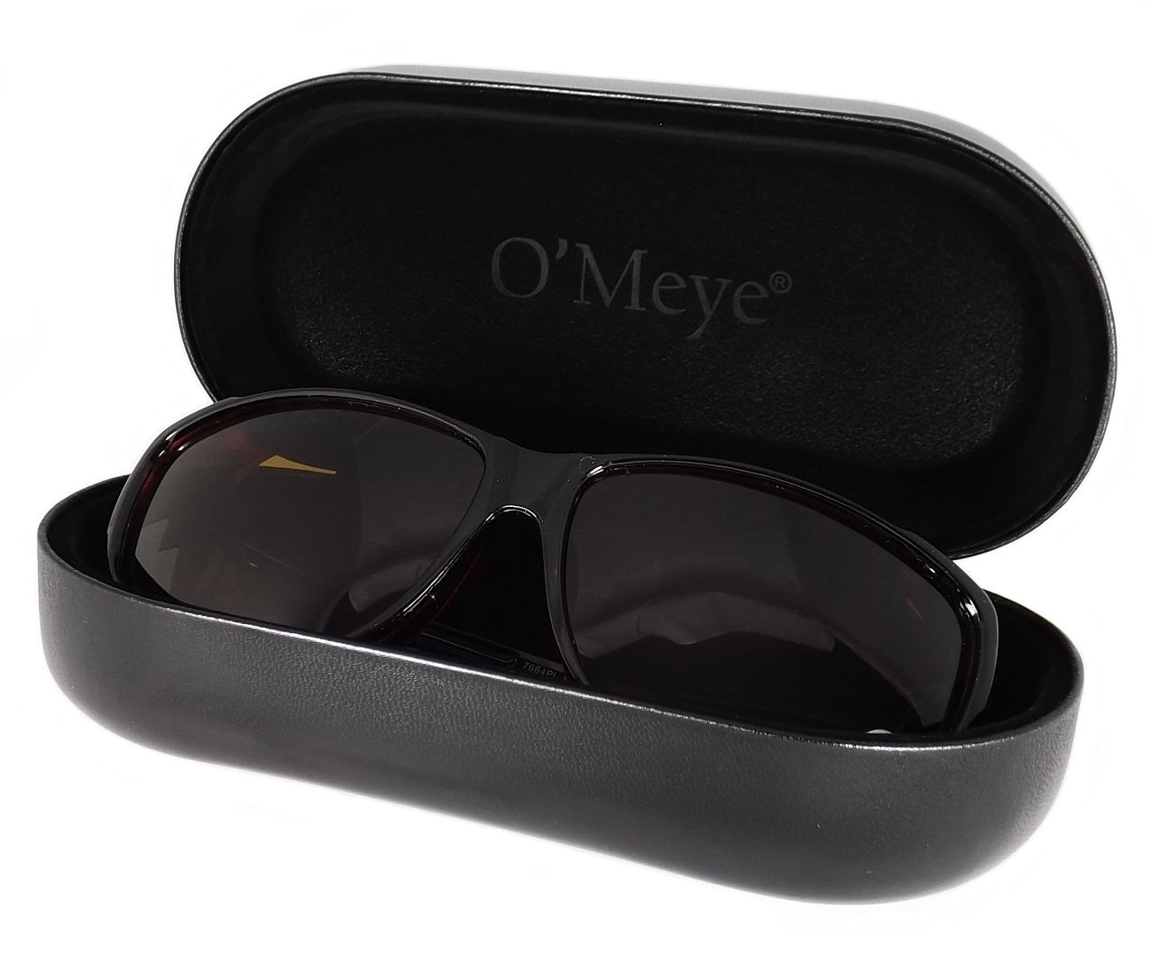 Amazon.com  Ultra-Extra Large Hard Eyeglass   Sunglasses Case for Fit  Over Safety Glasses - 3 Piece Set for Men   Women - O Meye® Case 7546496917b9