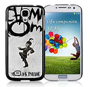 My Chemical Romance Black Samsung Galaxy S4 Cellphone Case Beautiful and Retro Design