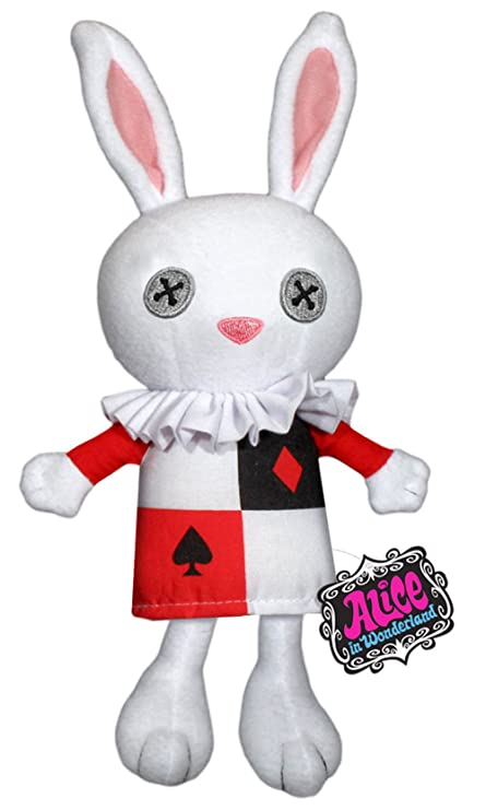 Amazon Com Alice In Wonderland White Rabbit Plush Toys Games
