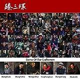 ZhenSanHuan Chinese Hand Hammered Iron Woks and
