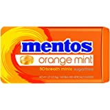 Mentos Sugar-Free Breath Mints, Orange Mint, 1.27 Ounce (Pack of 12)
