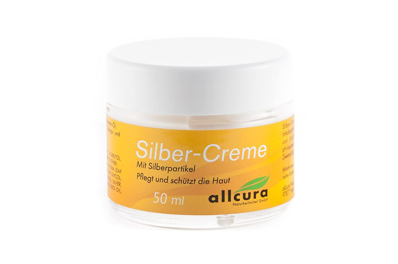 SILBER CREME m.kolloidalem Silber, 50 ml ALLCURA NATURHEIL.GMBH