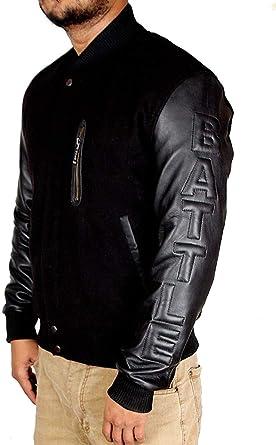 Michael B. Jordan Kobe Destroyer XXIV Battle Jacket Black Sleeves (SMALL) 197ea8a55