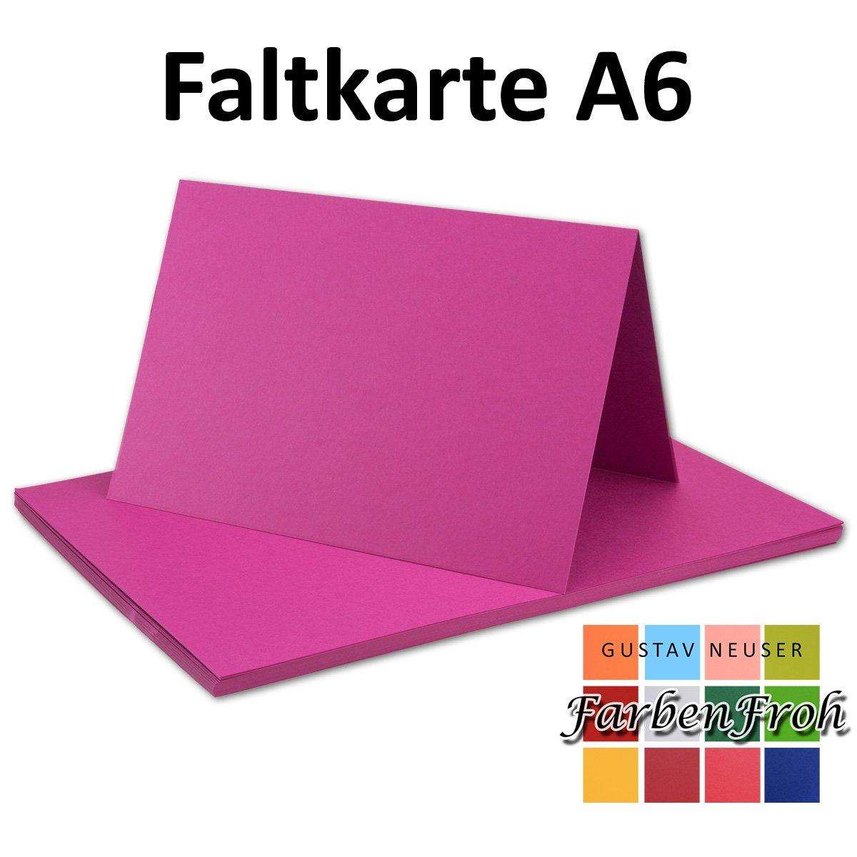 250x Falt-Karten DIN A6 Blanko Doppel-Karten Doppel-Karten Doppel-Karten in Hochweiß Kristallweiß -10,5 x 14,8 cm   Premium Qualität   FarbenFroh® B079T74TN7 | Lebhaft  3bd554