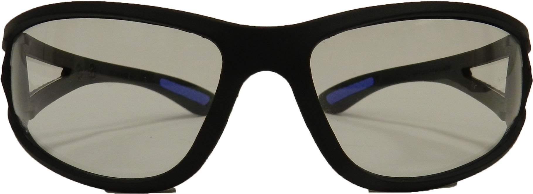 ERB 16670 ERBan Safety Glasses, Black Frame with Clear Lens