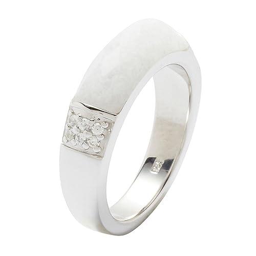 41a1756ab616 Fossil Jewelry JF18045040170 - Anillo de plata de ley