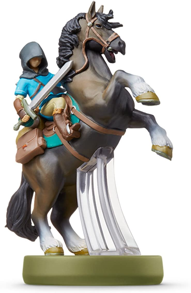 Amiibo link (riding) - Breath of the Wild (The Legend of Zelda ...