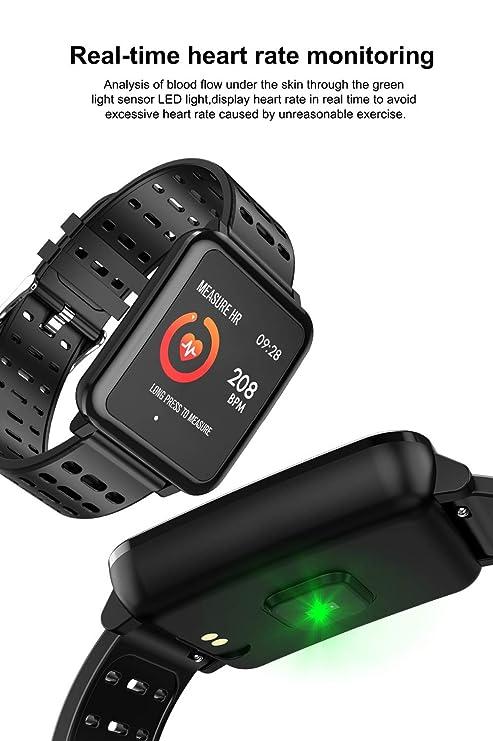 Makibes BR2 - Reloj Deportivo con brújula GPS y velocímetro ...