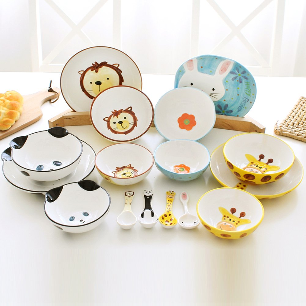 Creative Animal Children's tableware Spoon 2 Pcs by Black Temptation (Image #2)