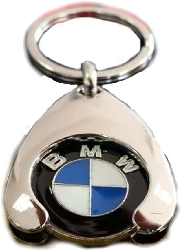 Original BMW Schl/üsselanh/änger Einkaufs Chip Einkaufswagen Einkaufschip 80272446749 1er 2er 3er 4er 5er 6er 7er X1 X2 X3 X4 X5 X6 4
