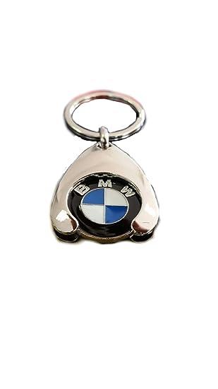 Original BMW llavero con moneda para carro de la compra la compra Chip 80272446749 1er 2 3 4 5 6 7 X1 X2 X3 X4 X5 X6, Durchmesser 23 mm