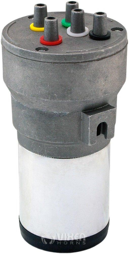 Vixen Horns Loud 5//Five Trumpet La Cucaracha Musical//Music Sound Air Horn with Compressor Full Complete System//Kit Red 12V VXH6803R
