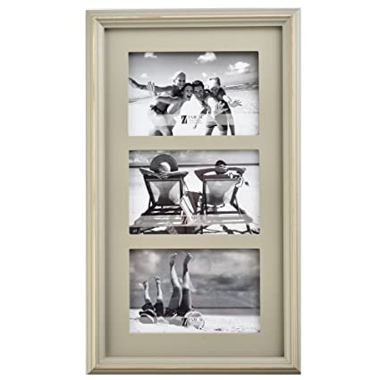 Amazon.com - UMICAL 3 Picture Frame Family Wooden Three 4x6 Photo ...