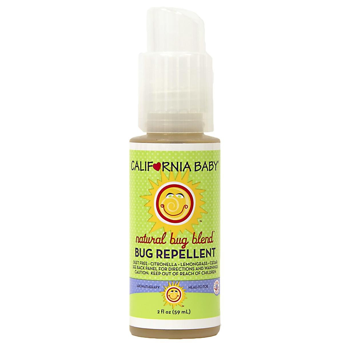 California Baby Natural Bug Blend Bug Repellent Spray - 2 oz