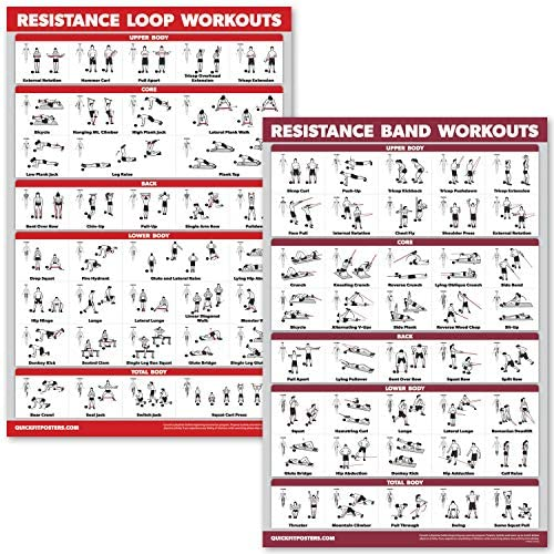 QuickFit Pack Resistance Laminated Exercise product image