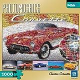 1000 piece puzzles corvette - Buffalo Games Classic Corvette 1000 Piece Photomosaic Jigsaw Puzzle