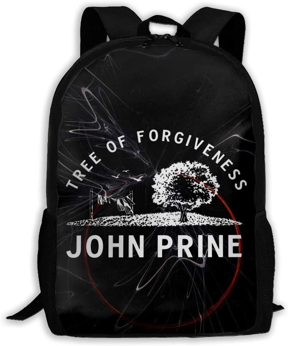 Sabibiegenwo John Prine Rucksack Laptop Backpack Casual Day Packs