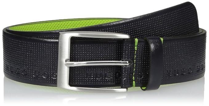 HUGO by Hugo Boss Tymoso - Cinturón de piel perforada para hombre ... 779766d489b8