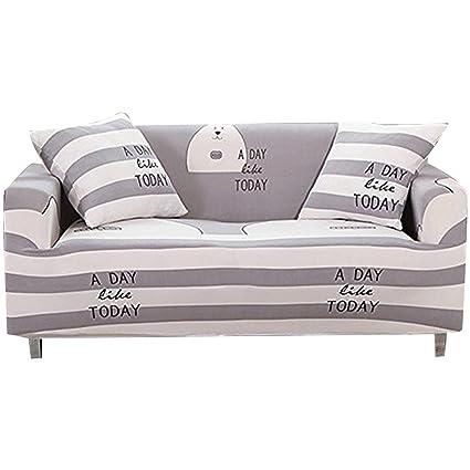 FORCHEER Funda para sofá de 1/2/3/4 plazas, funda para sofá, sillón elástico, protector de muebles, tela, Pattern #29, 4 Seater