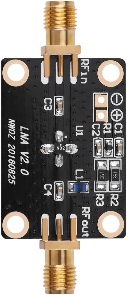 HF-Verst/ärker 50K-2G Rauscharmer Verst/ärker Breitbandverst/ärker LNA Gain 31DB@0.5G