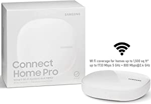 Samsung Connect Home Pro Smart Hub Smart WiFi System Router 4X4 MU-MiMO up to 1500sq FT (Renewed)
