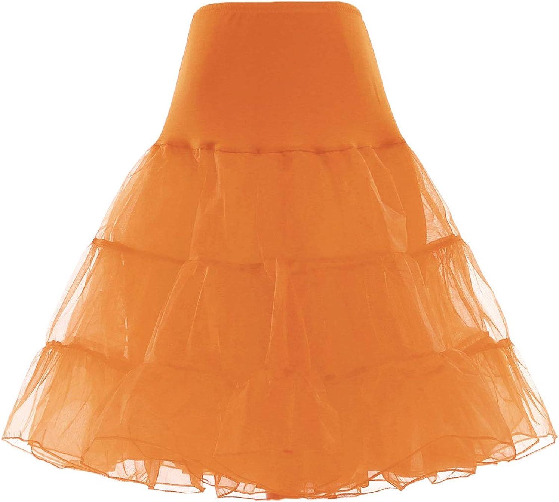 Beiqian Womens 50s Vintage Petticoat Crinoline Rockabilly Tutu Underskirts