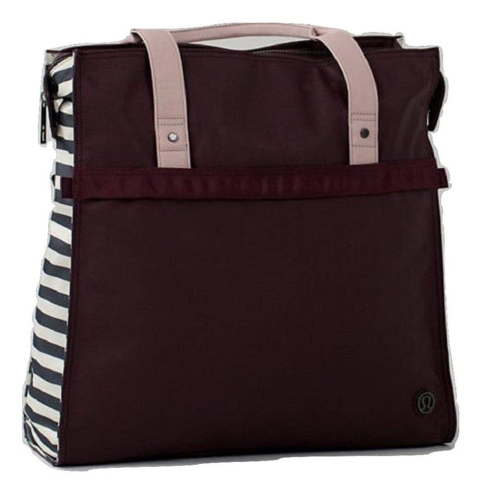 Lululemon Follow Your Bliss Bag Bordeaux Drama Apex Stripe