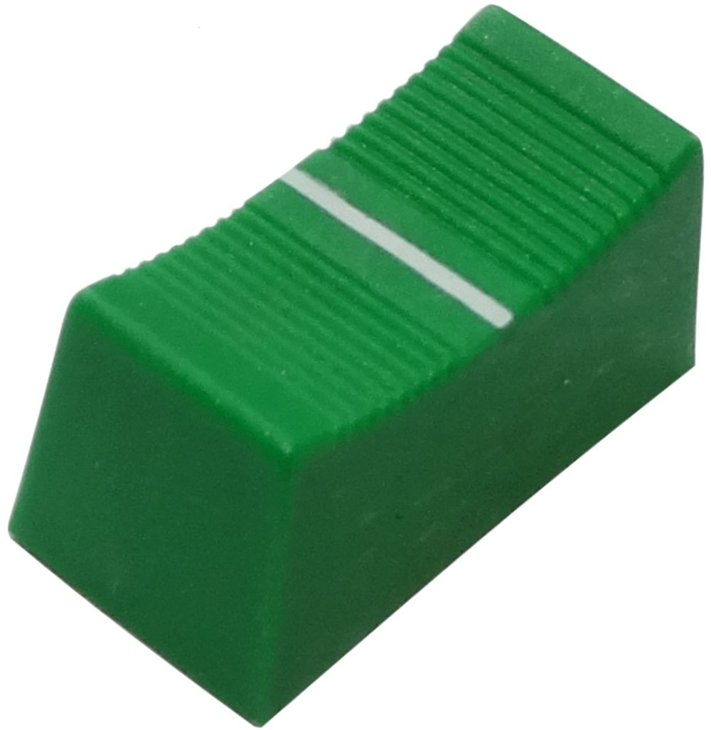 Aerzetix 5x bouton de potentiom/ètre /à glissi/ère 3mm-4mm vert 23x11x11mm C14853