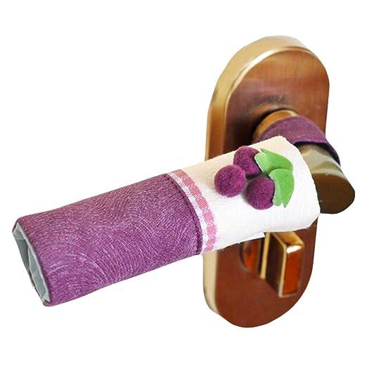 Un par de Micro horno manejar los protectores/manija de la puerta ...