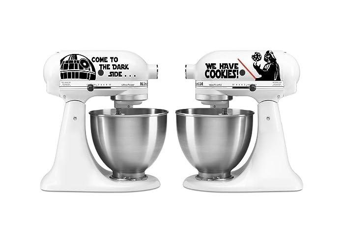 Amazon.Com: Kitchen Mixer Star Wars Inspired Set Vinyl Decal