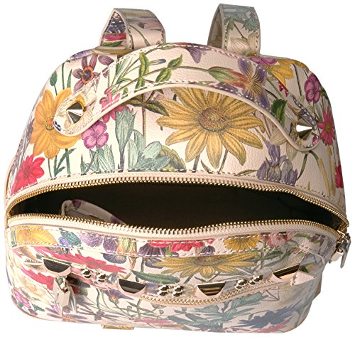 Steve Madden Barmand Pink Flowers Backpack - Zaino Stampa fiori