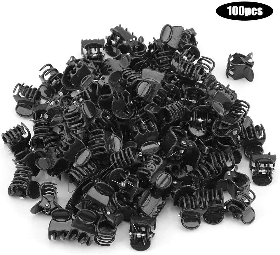 100Pcs Plant Support Clips Garden Clips Plastic Mini Stalks Flower Garden Tools Stem Clips Grow Upright Orchid