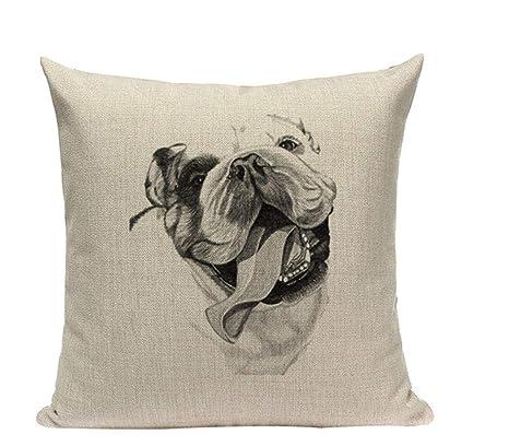 Almohada de sofa Funda de cojín barata de algodón de color ...