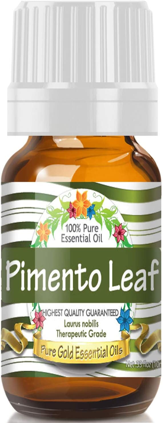 Pure Gold Pimento Leaf Essential Oil, 100% Natural & Undiluted, 10ml
