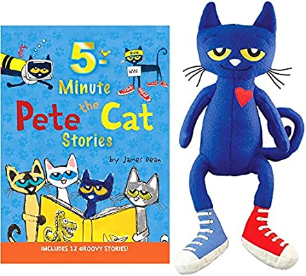 Amazon.com: Pete the Cat: 5-Minute Pete the Cat Stories Hardcover ...