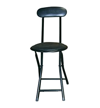 Above Edge 18u0026quot; Cushion Top Folding Stool with Back 6 Piece ...  sc 1 st  Amazon.com & Amazon.com: Above Edge 18
