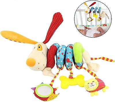 Aroland Pram Toys for Babies Clip on Stroller Sensory Toys